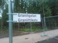 Graniittikatu valmistunut 30.6.2014
