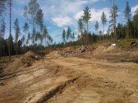 Maasälpäkatu työmaa hyvässä vauhdissa 18.7.2014