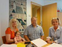 Dönsby Westin ensimmäinen tontti myyty Maasälpäkadulla heinäkuussa 2014. Tontin ostivat Diana ja Markku Rautio. Onnittelut Raution perheelle.